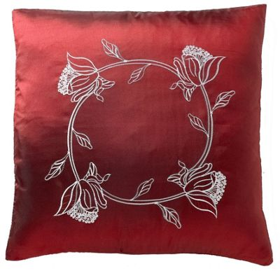 Tahiti Burgundy Cushion Cover