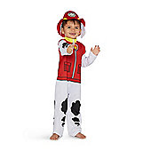 Nickelodeon Paw Patrol Marshall Fancy Dress Costume - Multi