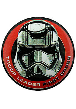 Star Wars Episode VII The Force Awakens First Order Troop Leader Badge - Multi