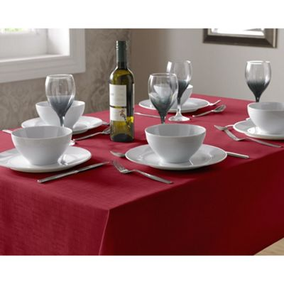 Select Oblong Tablecloth 135x180cm - Red