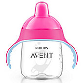 Philips Avent No Drip Spout Cup 9oz SCF753/00 12m+ (Pink)