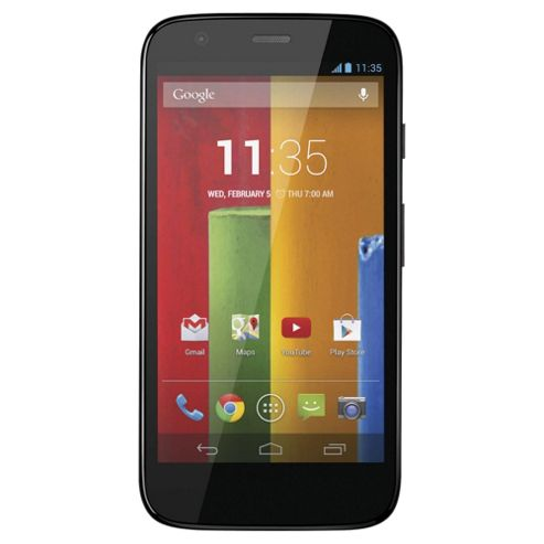 Tesco Mobile Motorola Moto G™ 8GB Black