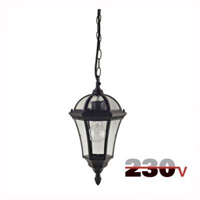 Luxform Victoria 230V Hanging Chain Light - Black