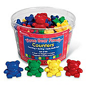 Learning Resources Three Bears Family Counters (Set of 80)