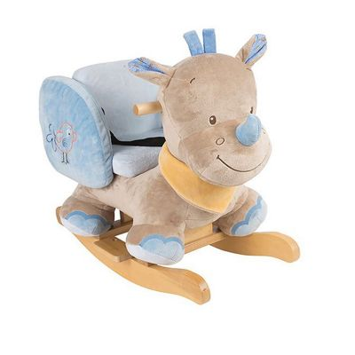 Nattou Animal Rocker - Louis the Rhino