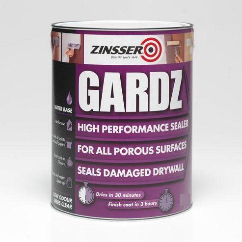 Zinsser Gardz High Performance Sealer Water Based - 2.5 Litre