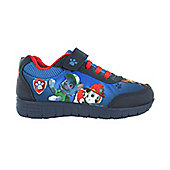 Paw Patrol Irwell Blue Mesh Hook and Loop Trainers UK Sizes 5 -10 - Blue