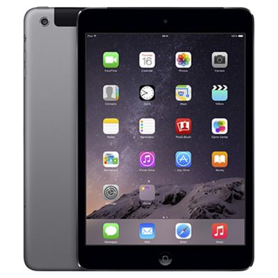 iPad mini 2, 16GB, WiFi & 4G LTE (Cellular) - Space Grey