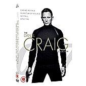 DANIEL CRAIG QUAD DVD 4disc