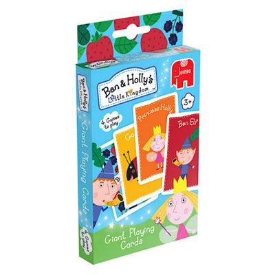 Ben and Holly's Little Kingdom Giant Playing Cards