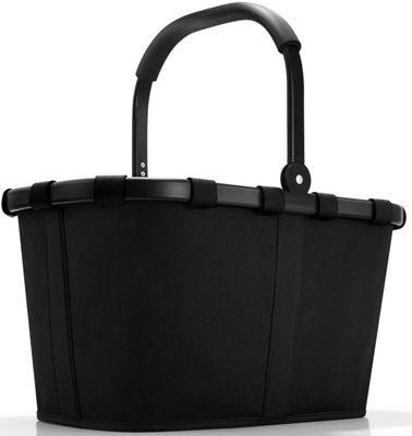 Reisenthel Foldable Carry Shopping Bag in Black with Black Frame BK7040