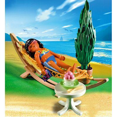 Playmobil Woman In Hammock 4861