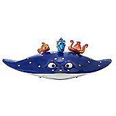 Disney Pixar Finding Dory Swigglefish Mr. Ray Playset