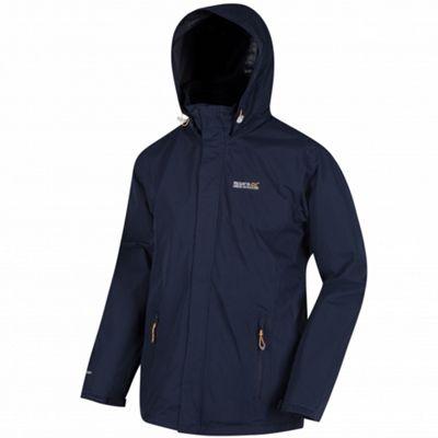 Regatta Matt Hooded Jacket Navy Blue 2XL
