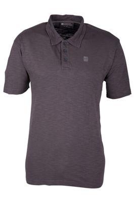 Mountain Warehouse Mens Heron Slub Polo Shirt T-Shirt Top outdoor Active Cotton