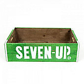 Cult Living Seven up Vintage Style Crate Green