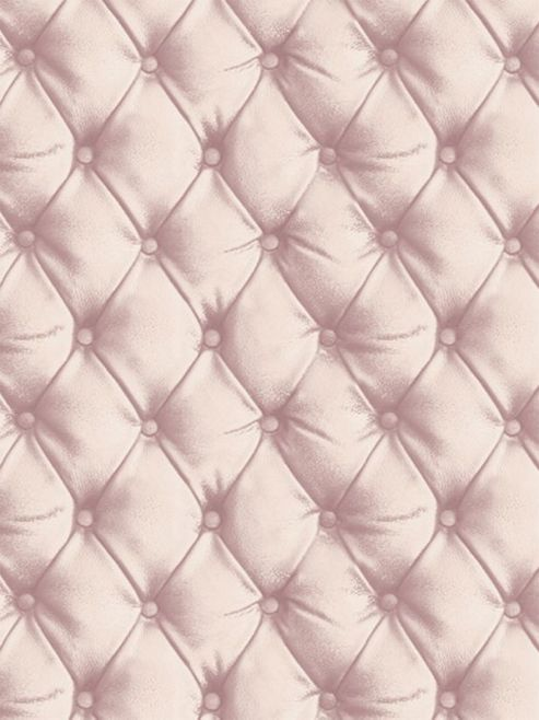 Desire Chesterfield Leather Effect Wallpaper Blush Arthouse 618103