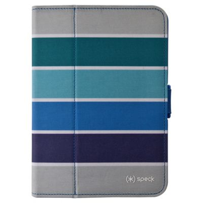 Speck Fit Folio Kindle Fire HD Stipes Blue