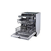 electriQ 15 Place Fully Integrated Dishwasher