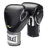 Everlast Pro Style Training Boxing Gloves - Black