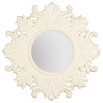 Regis Cream Mirror Dia. 66cm