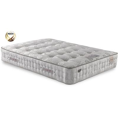 Sareer 3000 Pocketo Cool Blue Memory Foam Mattress - Medium/Firm - Single 3ft