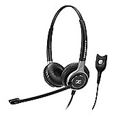 Sennheiser Century SC 660 Wired Stereo Headset - Over-the-head - Circumaural - Black, Silver