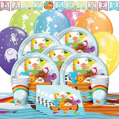 Noah's Ark Party Pack - Deluxe SAVE 10%
