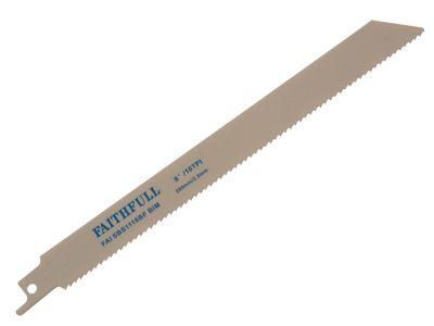 Faithfull Bi-Metal Sabre Saw Blade S1118BF (Pack of 5)