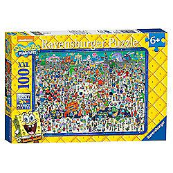 Spongebob Squarepants XXL 100 Piece Jigsaw Cardboard Puzzle