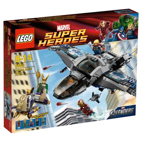 LEGO 6869 Super Heroes The Avengers Quinjet Aerial Battle