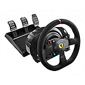 Thrustmaster T300 Ferrari Integral Alcantara Edition Racing Wheel and Pedal Set - PS3/PS4/PC