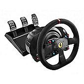 Thrustmaster T300 Ferrari Integral Alcantara Edition Racing Wheel and Pedal Set - PS3/PS4/PC