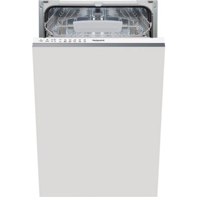 Hotpoint Aquarius Slimline Integrated Dishwasher LSTB 6M19 UK - White