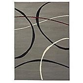 Element Retro 9255 Grey Rug - 160x220cm