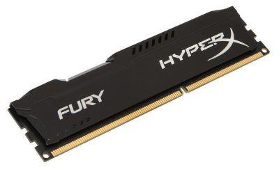 Kingston HyperX Fury RAM Module - 8 GB (1 x 8 GB) - DDR3 SDRAM