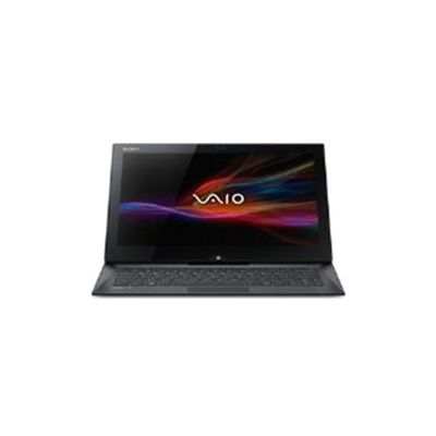 Sony Vaio Duo SVD1321M2E (13.3 inch) Notebook Core i5 (4200U) 1.6GHz 4GB 128GB SSD WLAN BT Webcam Windows 8 (HD Graphics 4400) - Black