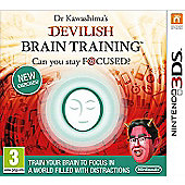 Dr Kawashima's Devilish Brain Training: Can You Stay Focused