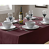 Select Round Tablecloth 90cm - Burgundy