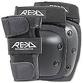 REKD Heavy Duty Junior Triple Padset - Black - Medium