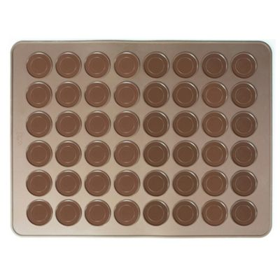 Andrew James Non-Stick Silicone Baking Mat for Macarons Mini Cookies or Biscuits