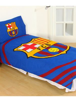 FC Barcelona Pulse Single Duvet Cover Set