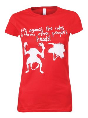 It's Against The Rules Red Women's T-shirt