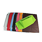Ultra Thin Smart Cover With Folding Stand for Apple iPad 2, 3 & 4 - Brown