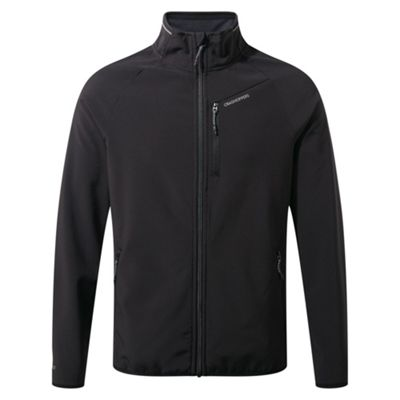 Craghoppers Mens Baird Softshell Jacket Black L