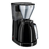 Melitta-1010-08 Easy Top Therm Coffee Filter Machine with 1.2L Capacity in Black