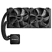 Antec H2O Kuhler H1200 240 mm Pro Water Cooling Kit - Black/Blue