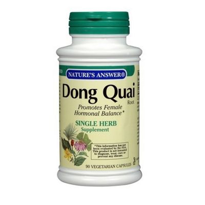 Nature's Answer Dong Quai Root Extract 90 Vegetarian Capsules