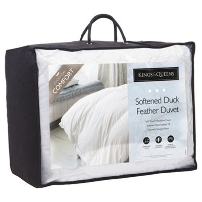 Kings & Queens Softened Duck A/S Duvet 13.5 king