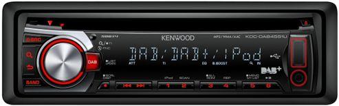 Kenwood KDC-DAB4551U Head Unit